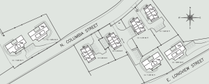 columbia villas map